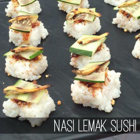 E-Nasi Lemak Sushi