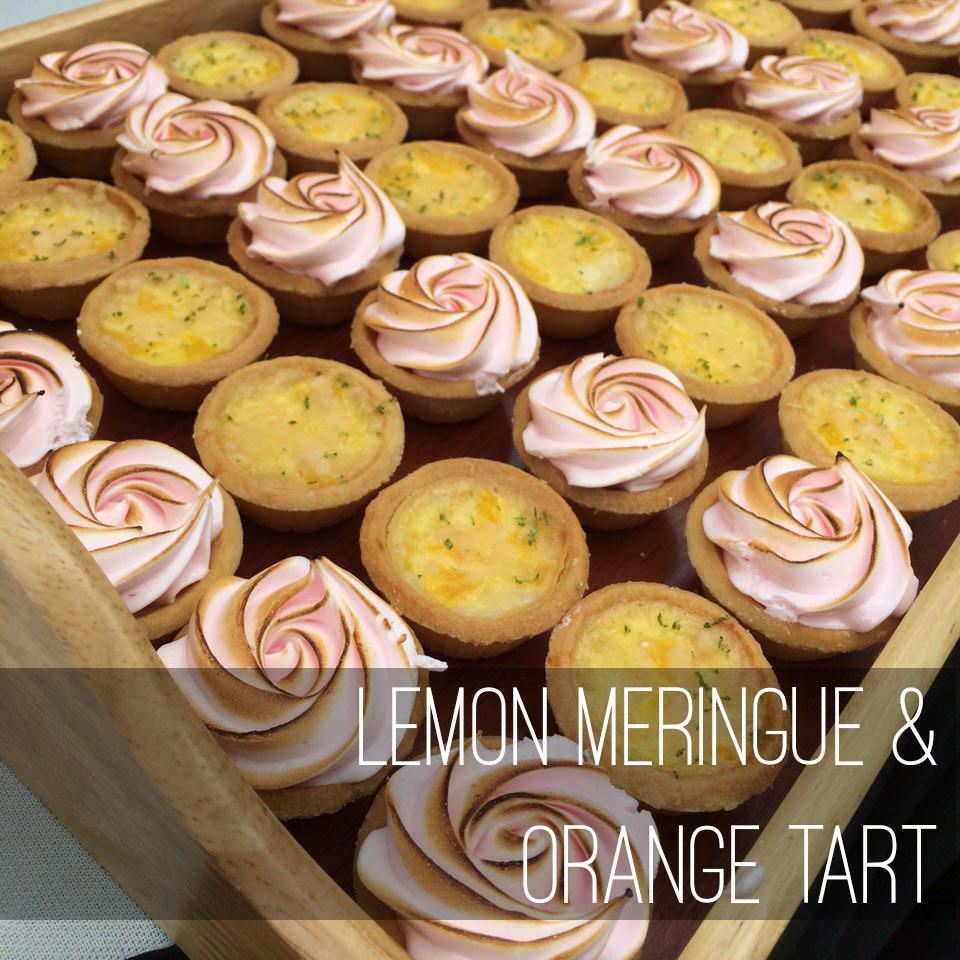 E2 Lemon meringue and orange tart copy